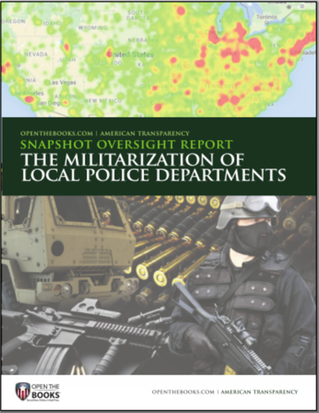 Militarization of local police