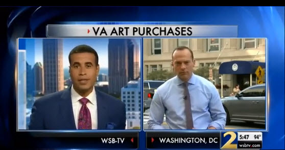 Video_-_COX_News,_ABC_Atlanta_-_VA_High-End_Art_Purchases
